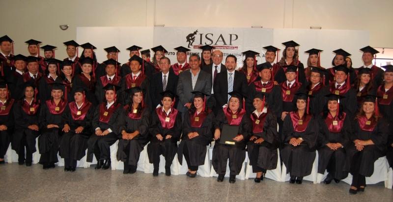 Egresados de la 2da. Generación de la Maestría en Gestión de Salud Institucional